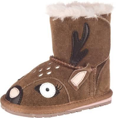 EMU Australia, Baby Winterstiefel Deer Walker für Mädchen, hellbraun