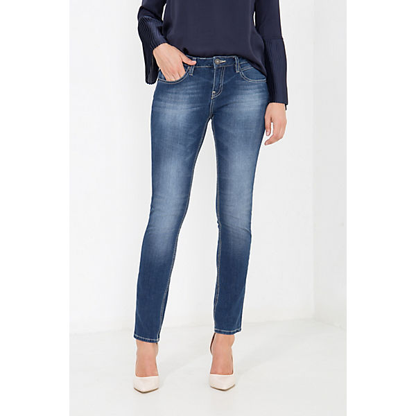 Belinda Jeans kombi In pocket Att 5 Blau Jeanshosen WaschungSlim Used Fit kTOPXiZu