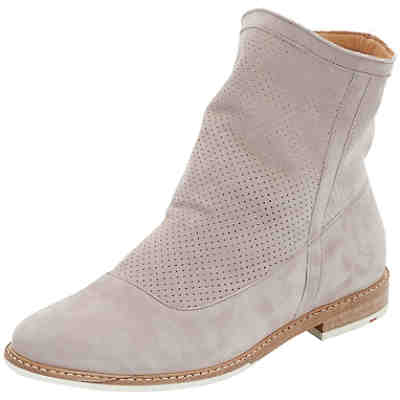 Stiefelette mit Perforation Ankle Boots