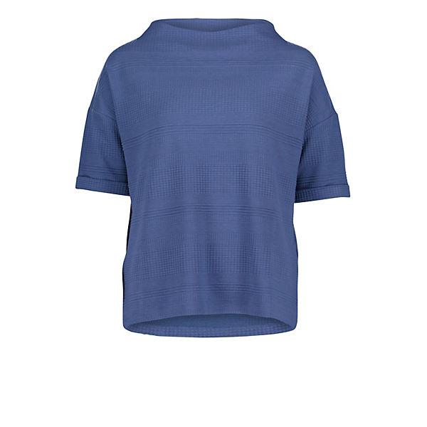 Blau Barclay Mit Betty Struktur Sweatshirt CxBredo