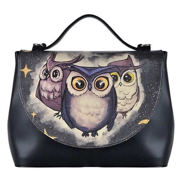 Family Dogo Handtaschen Schwarz Shoes Handy Owls KTFJc3l1
