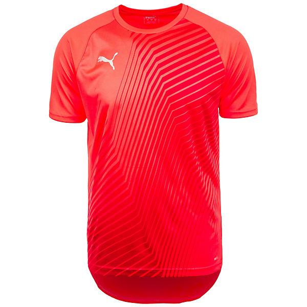 Herren Trainingsshirt Ftblnxt Rot weiß Core Puma Graphic OnXN8Pk0w