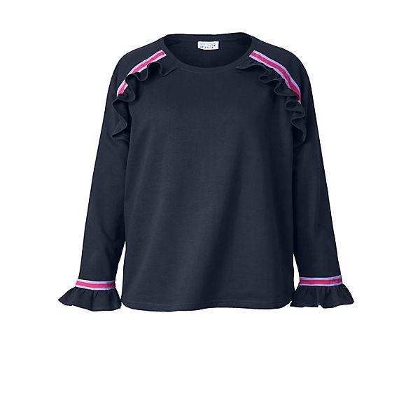 Volants Mit Angel Style Of Dunkelblau Sweatshirt O8PXn0wk