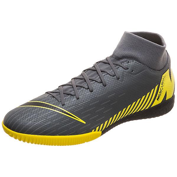 Vi Nike Superflyx Academy Herren Fußballschuh Dunkelgrau Mercurial Indoor Performance f6gvY7yb