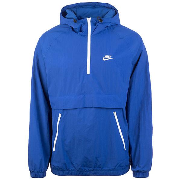 Nike Anorak weiß Sportswear Herren Blau Kapuzenjacke Woven tsQCdhr