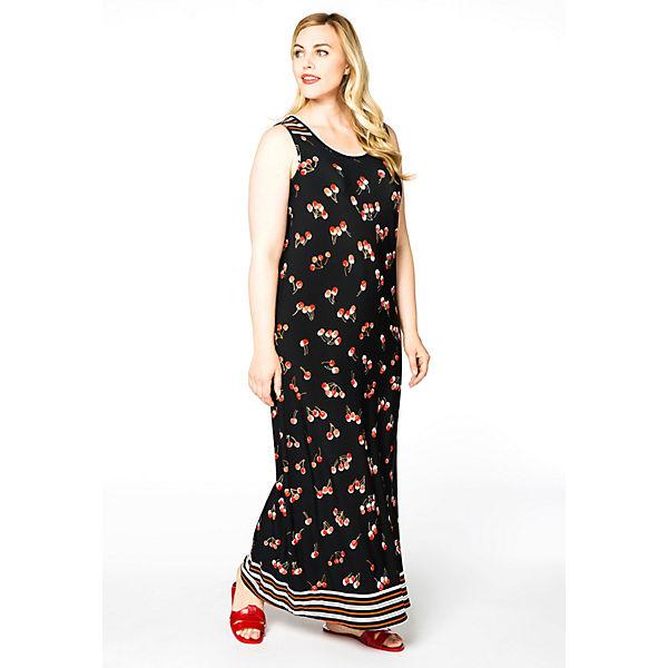 Druck Mit Yoek Mehrfarbig Kleider Kleid CoedrBx
