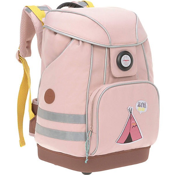 Schulranzen 4Kids, School Bag, Adventure Tipi, pink