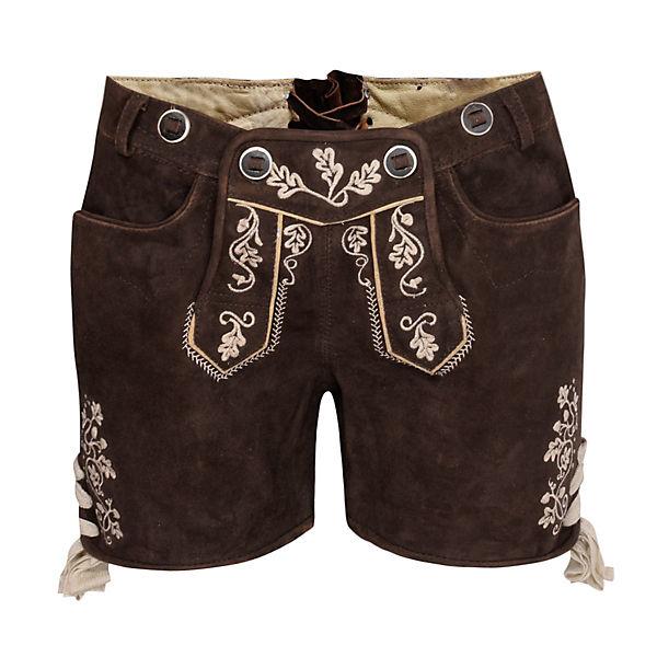 Braun Kurze Shorts Lederhose Almsach Almsach Almsach Kurze Shorts Braun Kurze Lederhose Lederhose rxQdBshtC