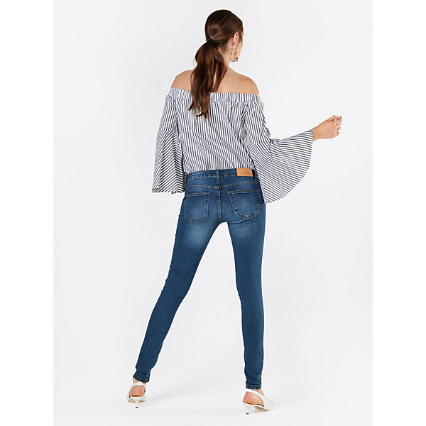 Jeanshosen Jeans Eve Noisy Blau May srhQCtd