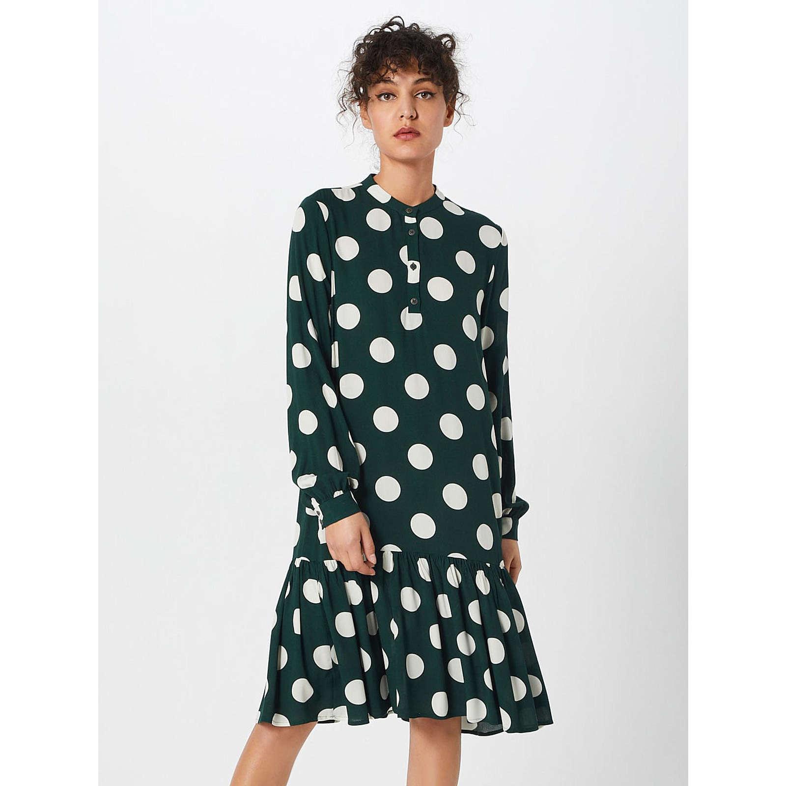 OBJECT Blusenkleid Blusenkleider weiß Damen Gr. 36