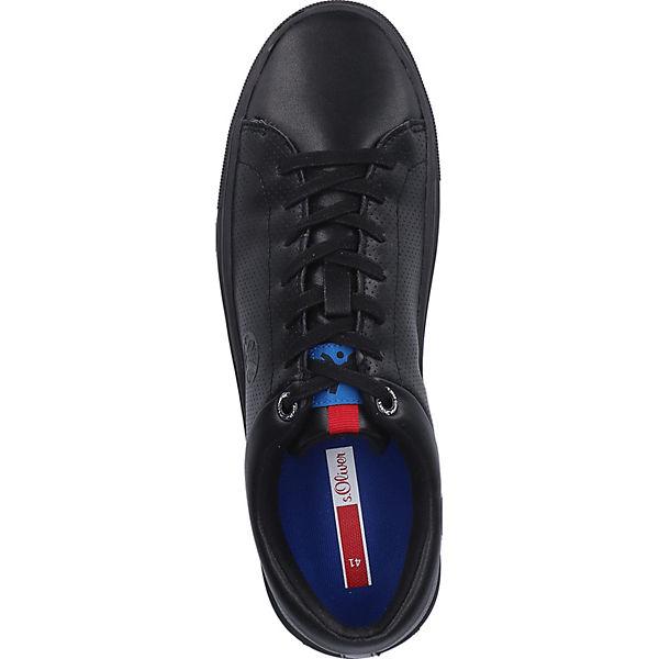 Schwarz S oliver Sneaker Sneakers Low 5Aj34RL