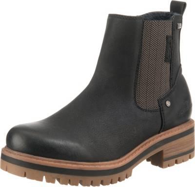 Clogs : TOM TAILOR für Frauen Schuhe Boots mit Blockabsatz