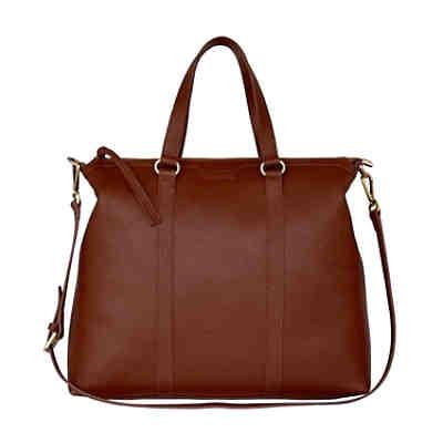 1308953c56ea3 Silvio Tossi Lederhand- und Schultertasche mit Spezialschutzschicht  Handtaschen ...