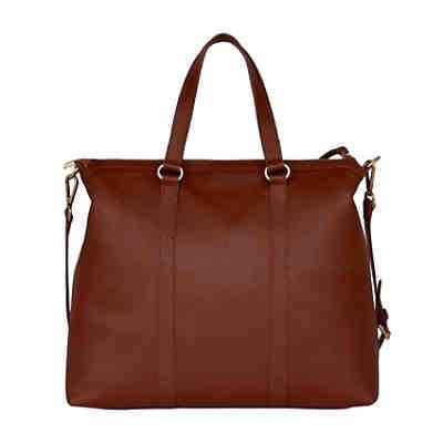 f30211c56d3ce ... Silvio Tossi Lederhand- und Schultertasche mit Spezialschutzschicht  Handtaschen 2