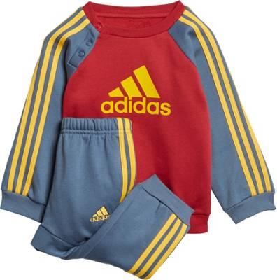 adidas Performance, Baby Jogginganzug LOGO JOG FL für Jungen, rot