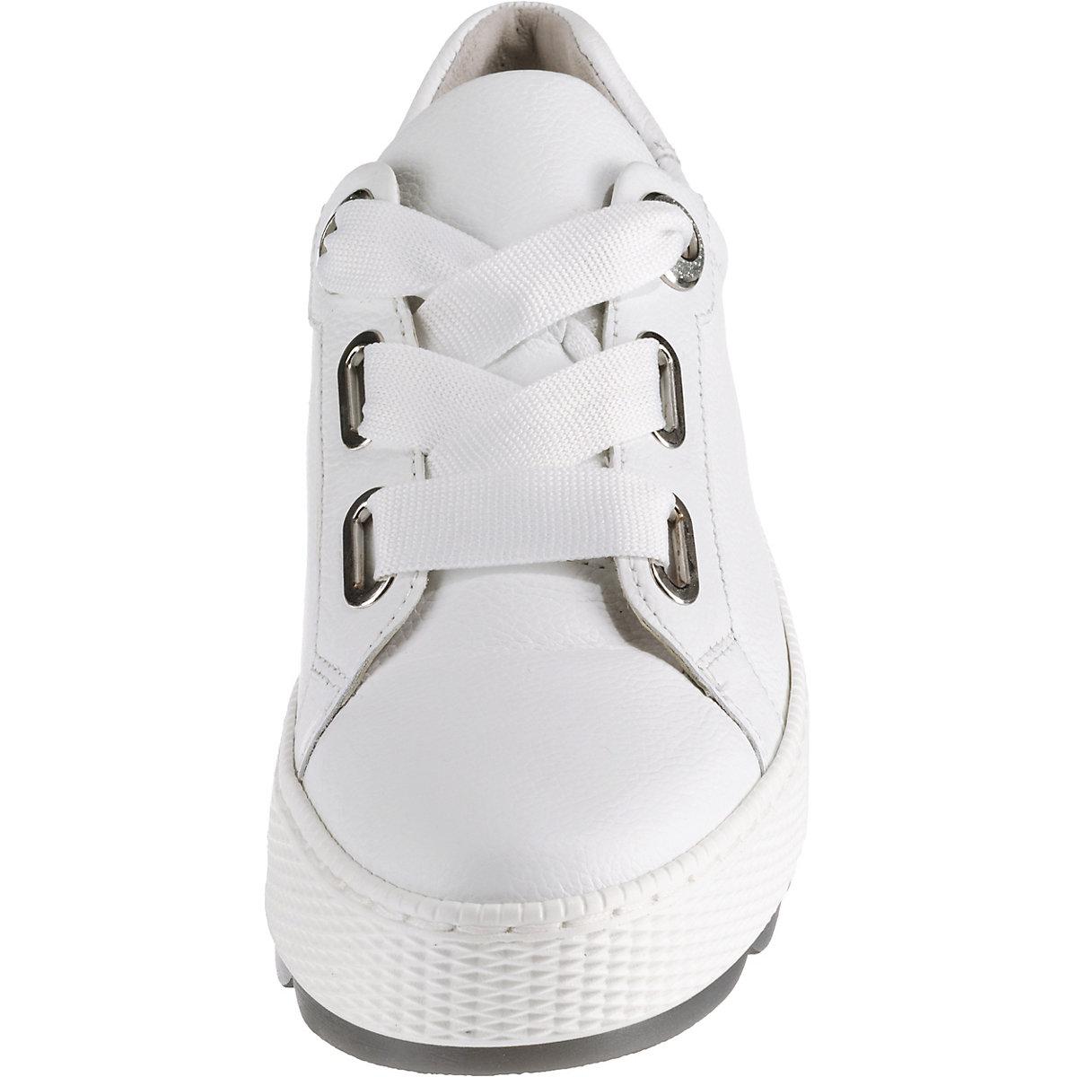 Gabor, Sneakers Low, Weiß