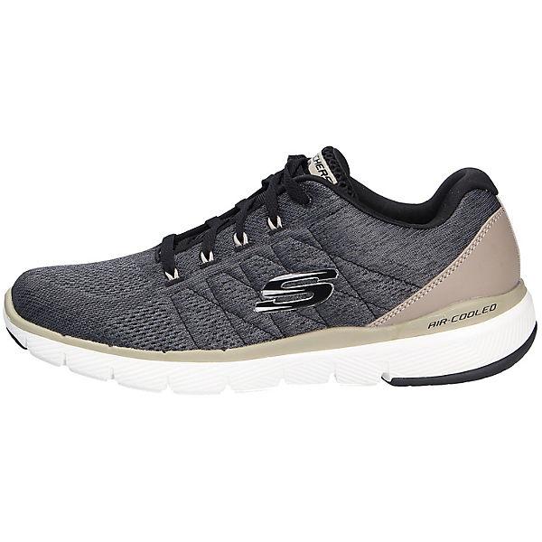 Sportiver Sneakers Low Skechers Schwarz sneaker Schnürschuh WEDH29I