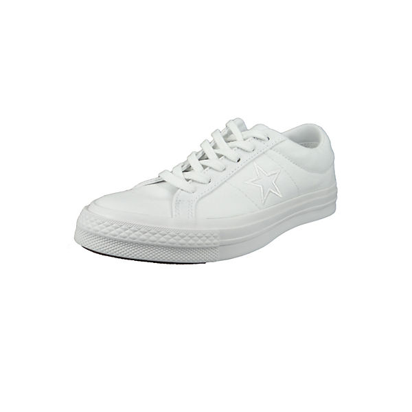 163377c One Sneakers Weiss Ox Star Converse Low Weiß Chucks White MGLqUzSVp