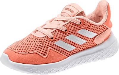adidas Sport Inspired, Baby Sneakers Low ARCHIVO I für Mädchen, koralle