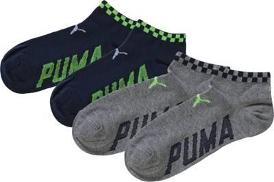 Vegane Socken   BLEED Sneaker Socken Feathery Schwarz Weiß