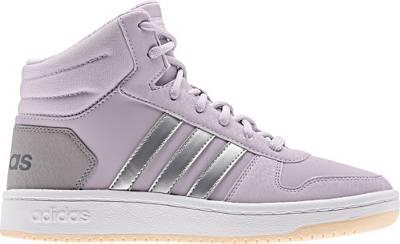adidas Sport Inspired, Sneakers High HOOPS MID 2.0 K für Mädchen, flieder