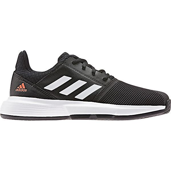 Gutes Angebot adidas Performance Sportschuhe COURTJAM XJ für Jungen schwarz