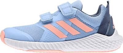 adidas Performance, Sportschuhe FORTAGYM CF K für Mädchen, hellblau