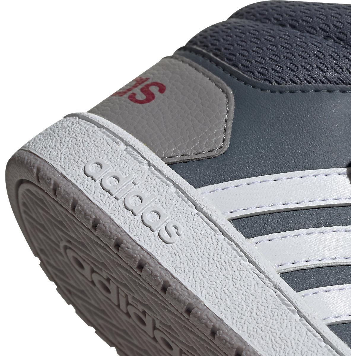 Adidas Sport Inspired, Baby Sneakers High Hoops Mid 2.0 I Für Jungen, Grau/anthrazit
