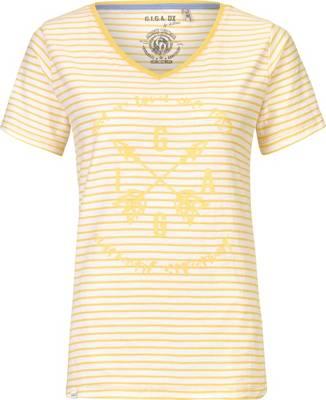 G.I.G.A. DX by killtec, T Shirts Merala Casual T Shirt, gelb