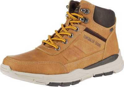 TOM TAILOR, Sneakers High, camel