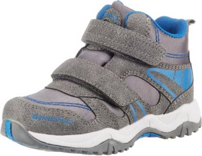 GiGa Shoes Leder Sneakers Halbschuhe, Silber, Klettverschluss, Gr. 31