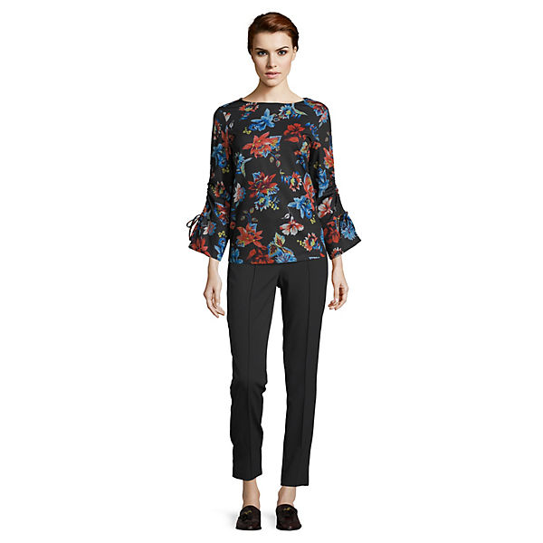 Blau Mit Betty Ringelshirt Blumenprint Barclay 4AjL5R