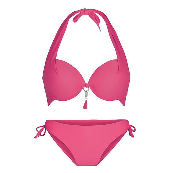 Bikiniset Halterneck Bikinis Lingadore® Rot Lingadore Summer IH9YeDWE2