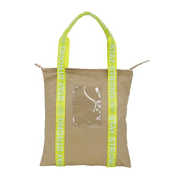 Flightbag Shopper George Handtasche Lucy Ginaamp; Beige HIeD92EWY