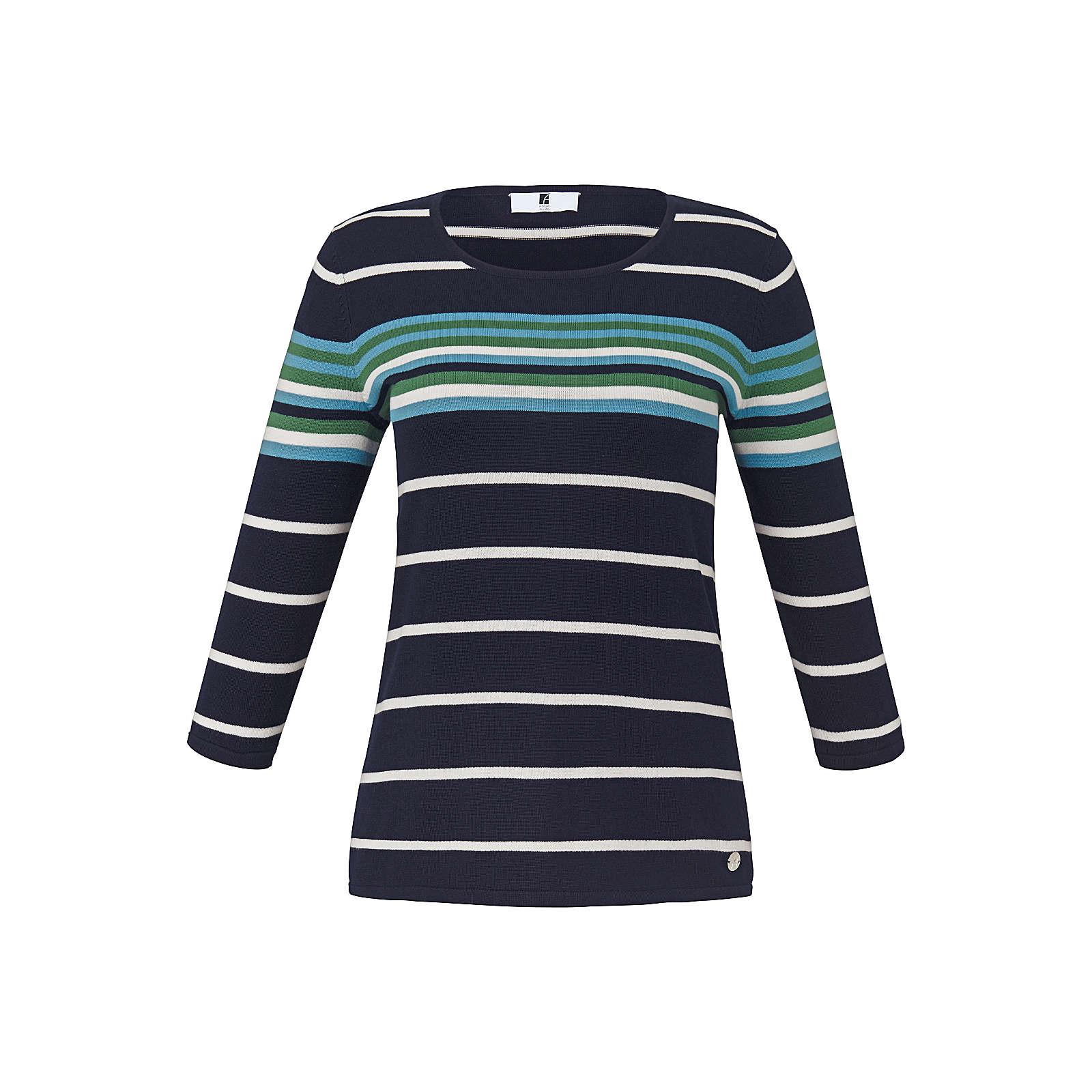 ANNA AURA Pullover Pullover mit 3/4-Arm Pullover bunt Damen Gr. 52