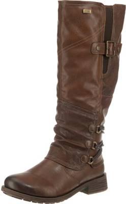 Comma´ Winterstiefel warm Stiefel Keilabsatz Futter gefüttert 39 Wedge Boots