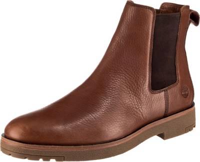 Timberland, folk gentleman Chelsea Boots, cognac