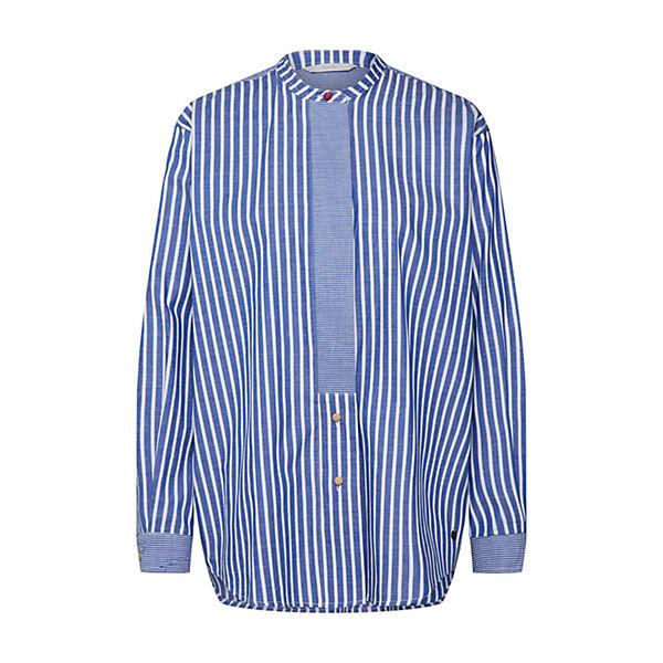 Langarmblusen Bluse Shirt Nümph Weiß Indie mO8n0Nvw