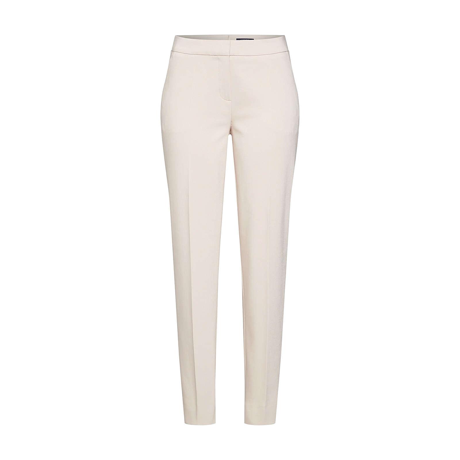 COMMA Bügelfaltenhose Anzughosen beige Damen Gr. 38