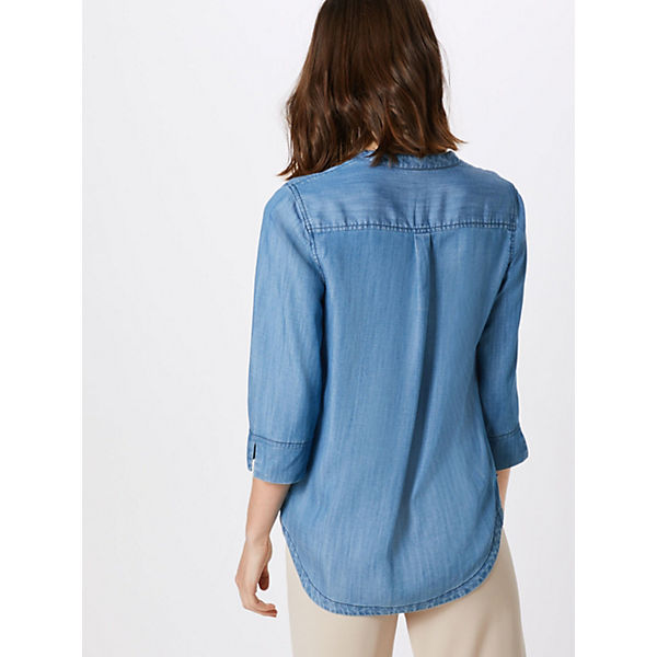 arm Garcia 3 4 Denim Bluse Blue blusen kuXiPZ