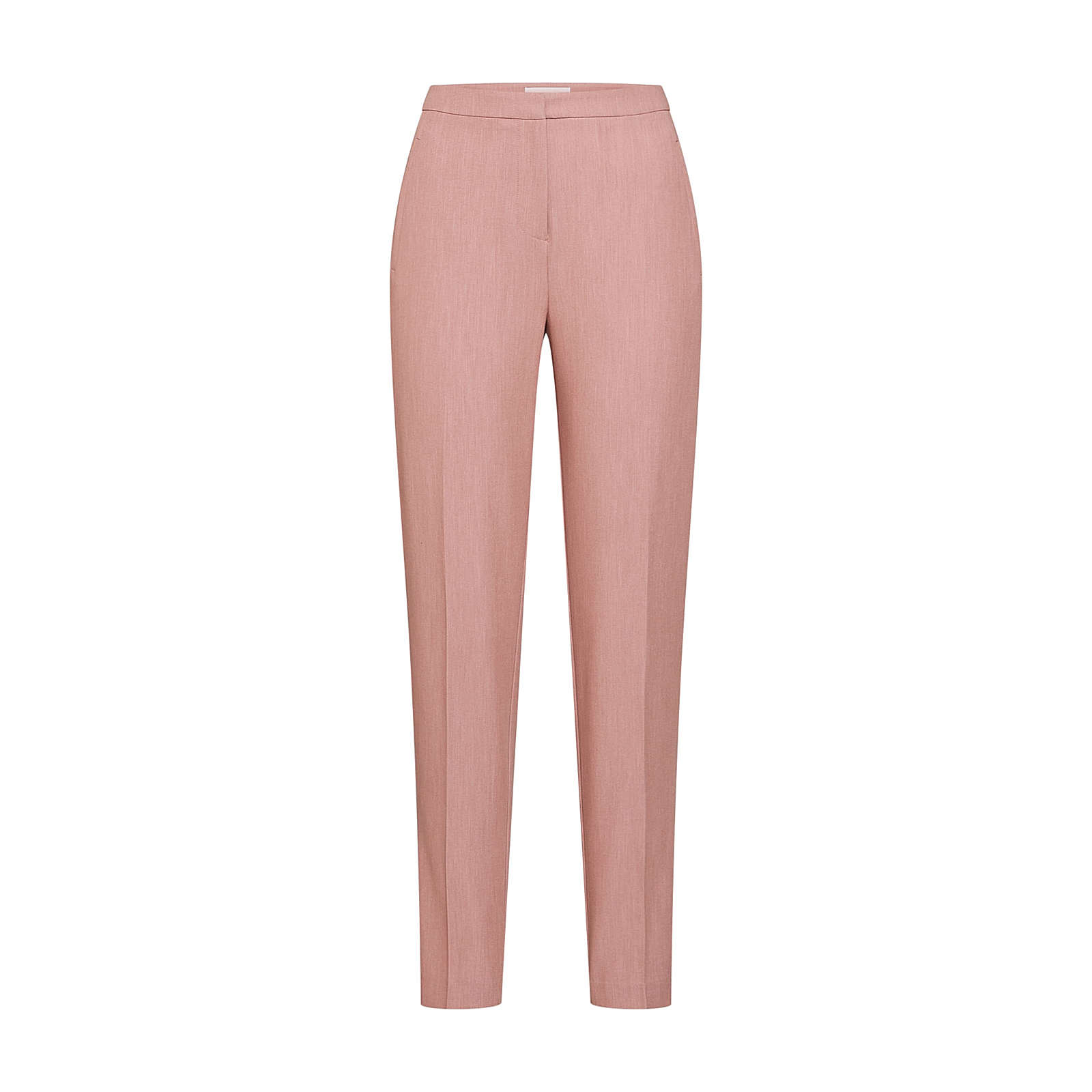 PIECES Bügelfaltenhose FELICE Stoffhosen rosa Damen Gr. 34