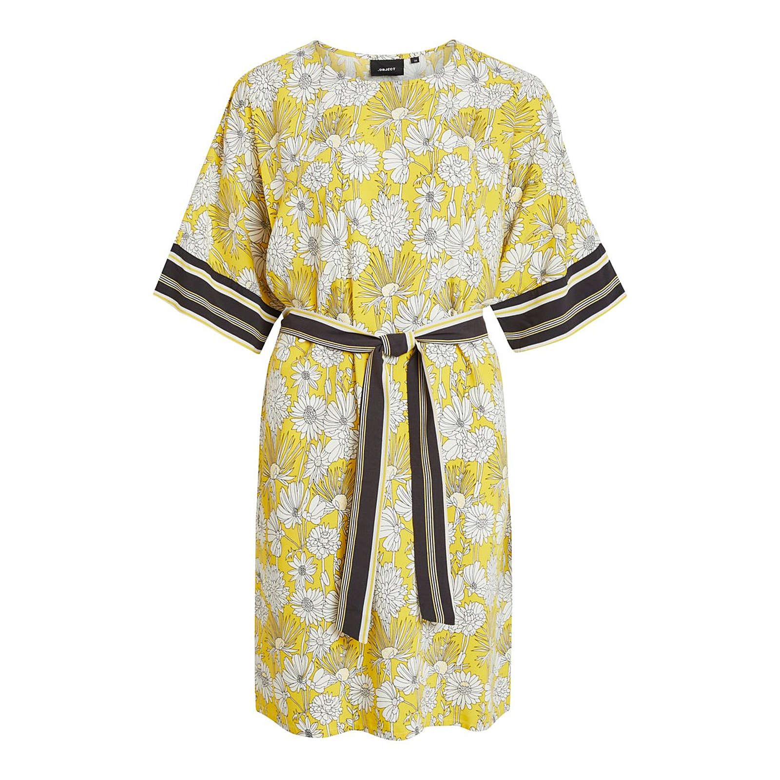 OBJECT Sommerkleid Sommerkleider weiß Damen Gr. 36
