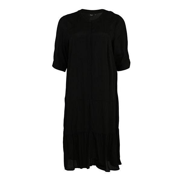 Blusenkleider Blusenkleid Schwarz Dasy Zizzi Dasy Zizzi Blusenkleid zMpGqSUV