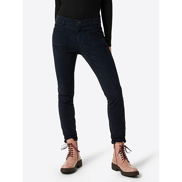 Cordhosen Nela Denim Tailor Coloured Hose Blau Tom ALqcRj435