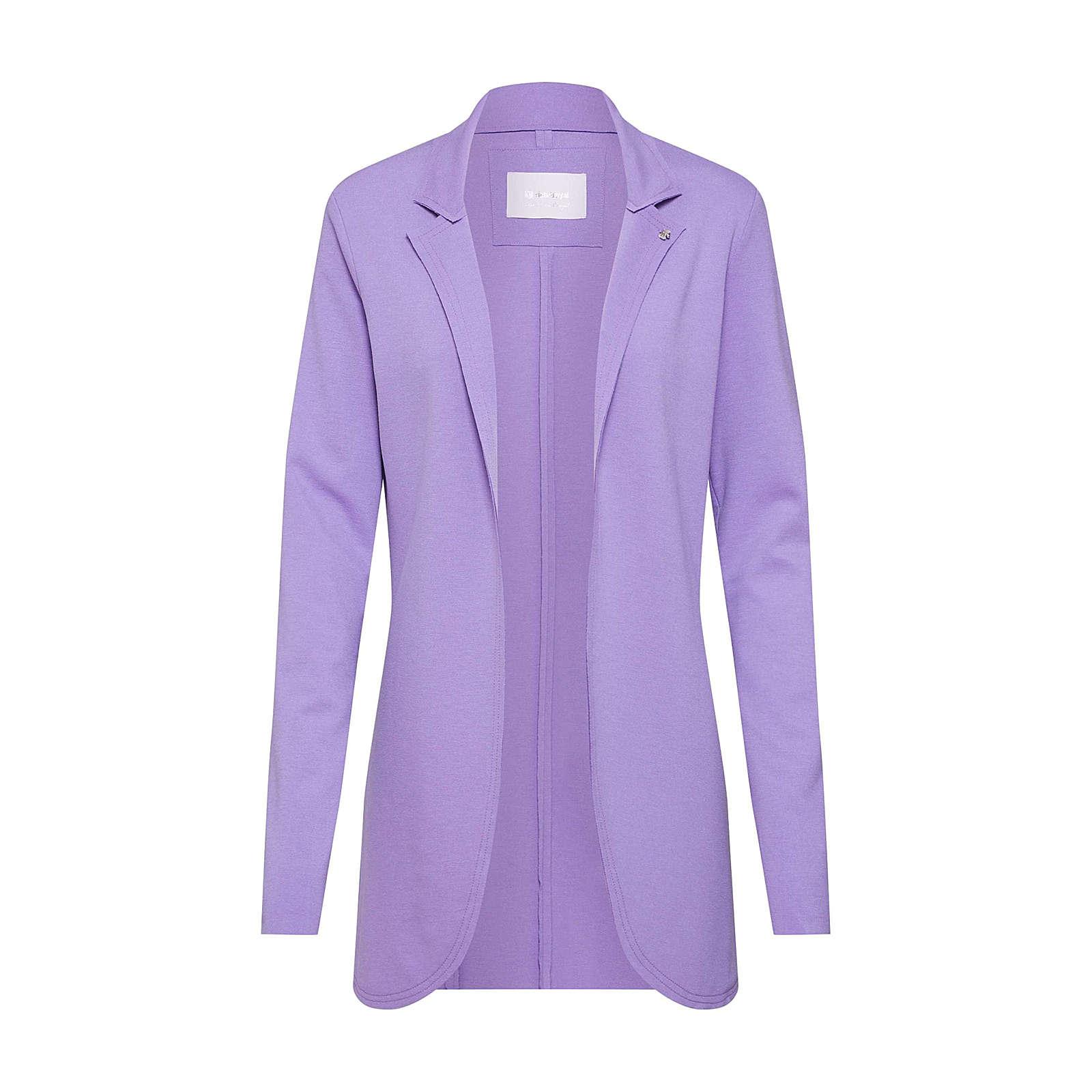 rich&royal Rich & Royal Blazer Sweat Blazer Sweatblazer lila Damen Gr. 36