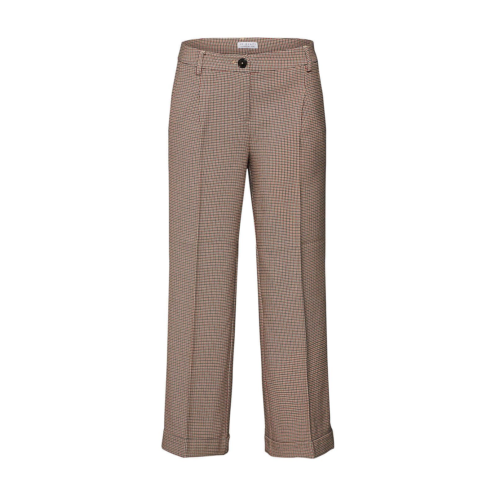 re.draft Bügelfaltenhose Stoffhosen beige Damen Gr. 38