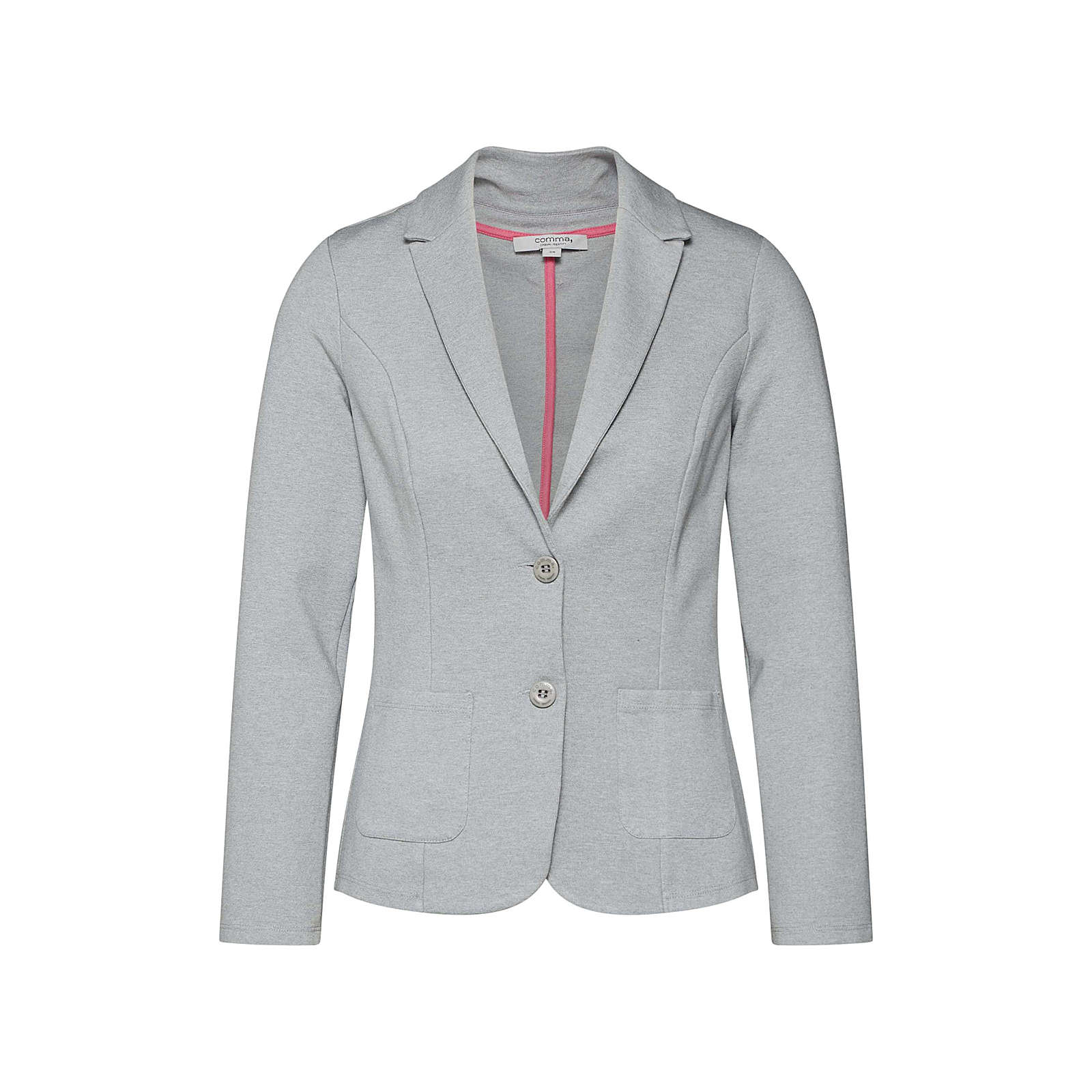 COMMA Blazer Sweatblazer grau Damen Gr. 36