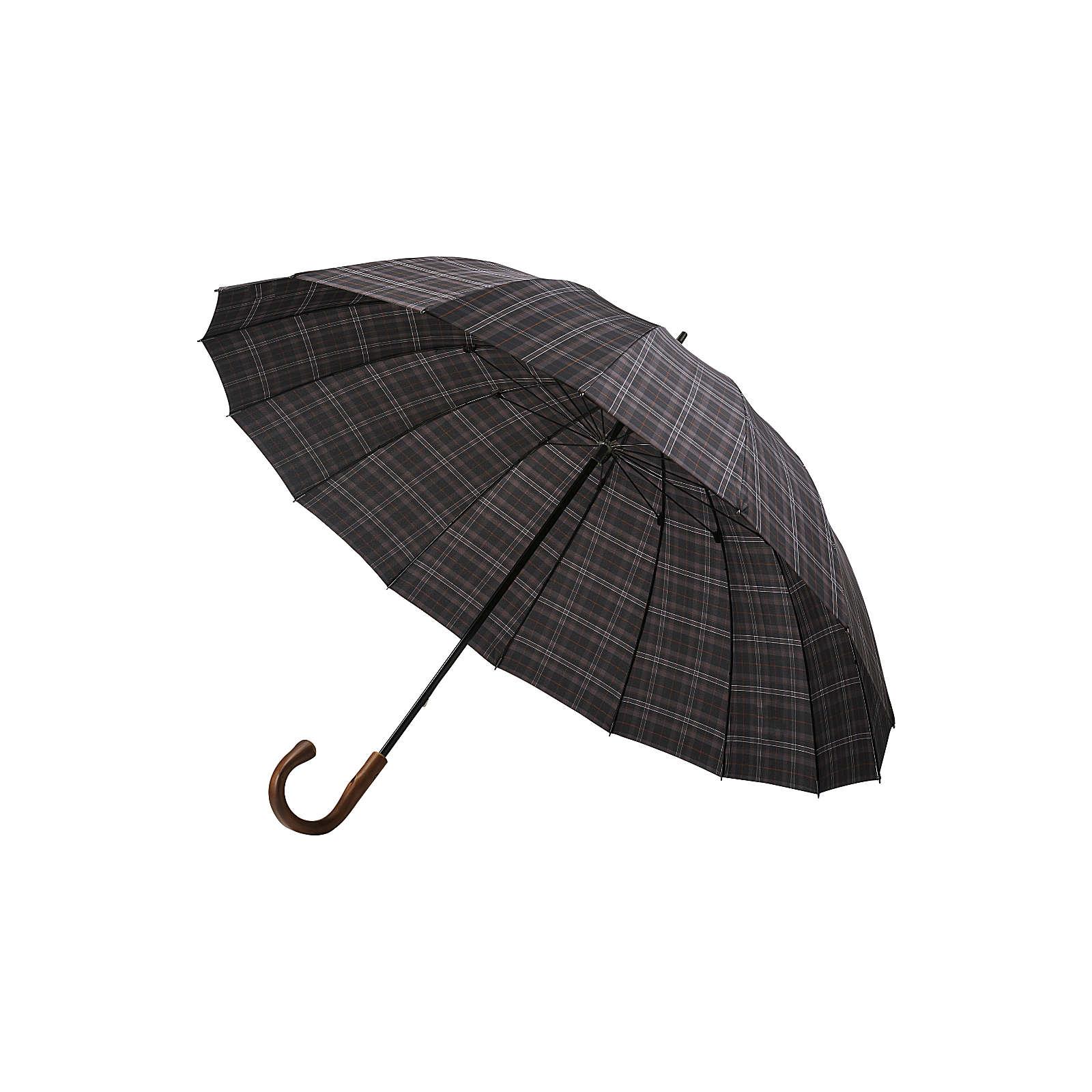 bugatti Regenschirm Doorman Regenschirme grau Herren Gr. one size