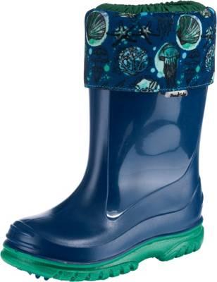 Lico Kinder Jungen Gummistiefel Stiefel Regenstiefel Outdoorschuhe Schuhe blau