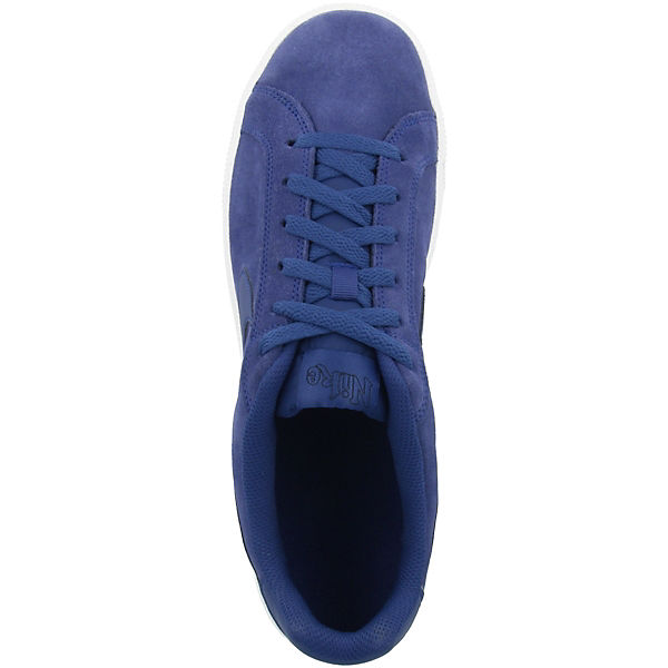 Nike Low Sneakers Suede Court Sportswear Schuhe Royale Blau hQrtsd